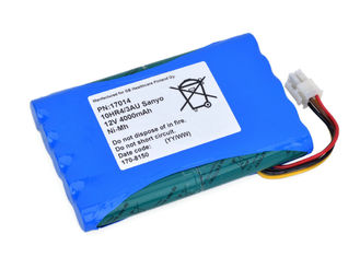 China Blauer Akku 12V NIMH 4000mah für Datex-Monitor Datex Ohmeda S 5 GE fournisseur