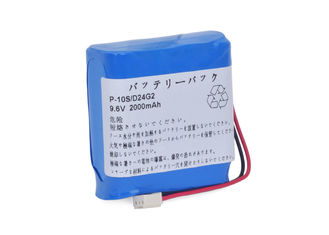 China Infusions-Pumpen-Batterie Panasonics nationale für P-10S/F24G2 ATOM P-600 9.6V 2000mAh NI-MH fournisseur